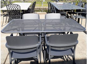 FLOOR MODEL - Tavio Table with Coco Chairs 5pc Outdoor Dining Setting