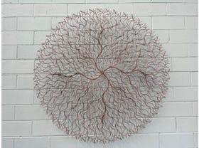 FLOOR MODEL- Round Wall Decor