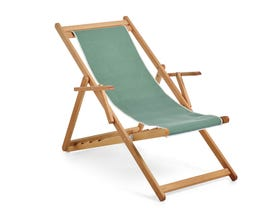 Beppi Sling Deck Chair -Sage