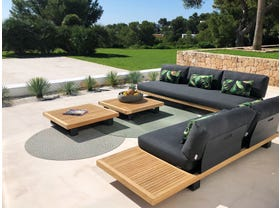 Truro 5 Seater Outdoor Lounge Setting