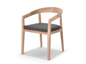 Ubud Teak Outdoor Dining Chair