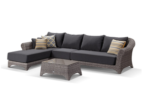 Versailles 4pc Outdoor Lounge Setting -VIC ONLY