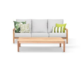 Venlo 2pc Teak Outdoor Lounge Setting
