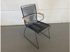 Viola Teak Arm  Dining Chair -NSW ONLY