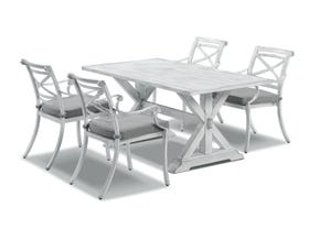 Vogue 5pc Outdoor  Dining Setting