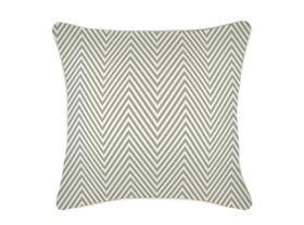 Zig Zag Sage Outdoor Cushion -60 x 60cm