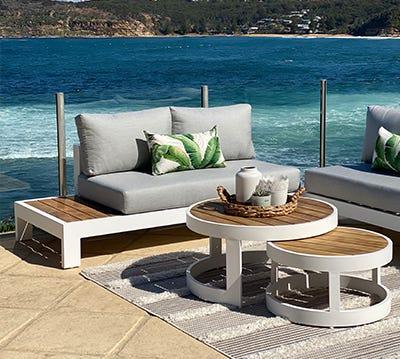 shop aluminium outdoor lounges