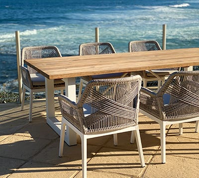 Shop Timber Outdoor Dining Settings