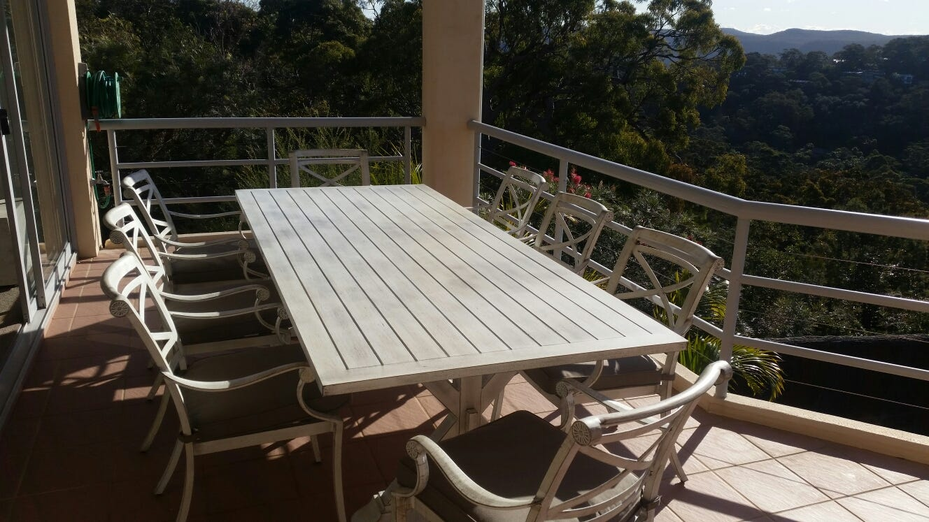 Take a look at how our customers are using these tables in their backyards