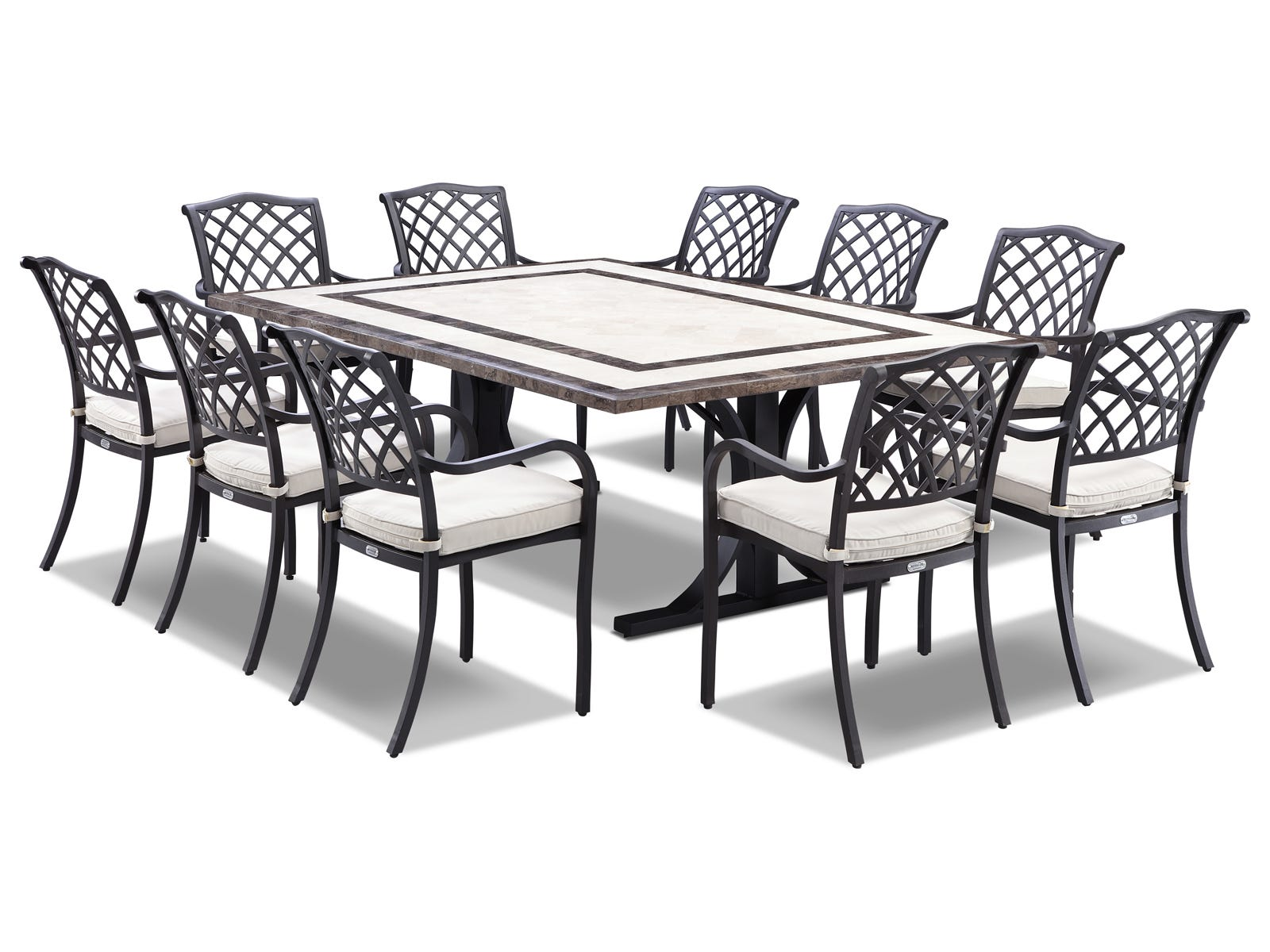 Natural Stone Outdoor Tables
