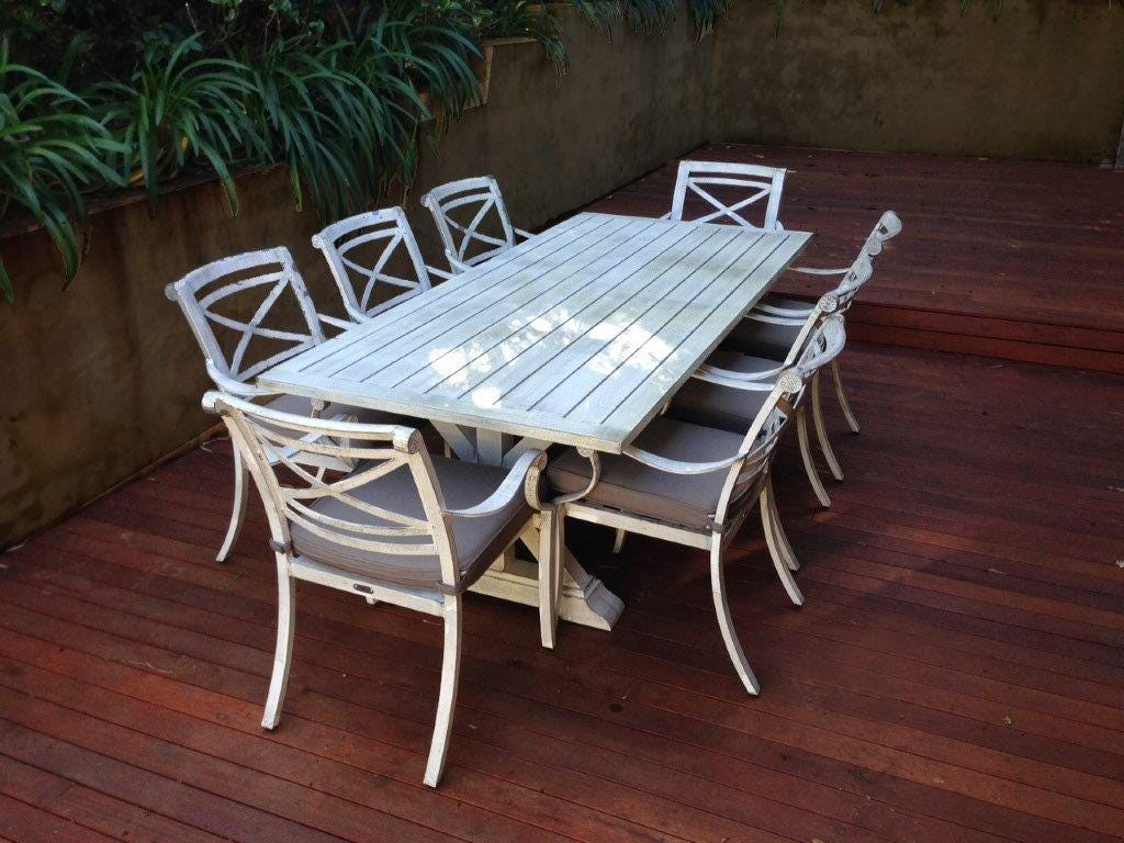 Backyard Outdoor Dining Vogue Avalon E2