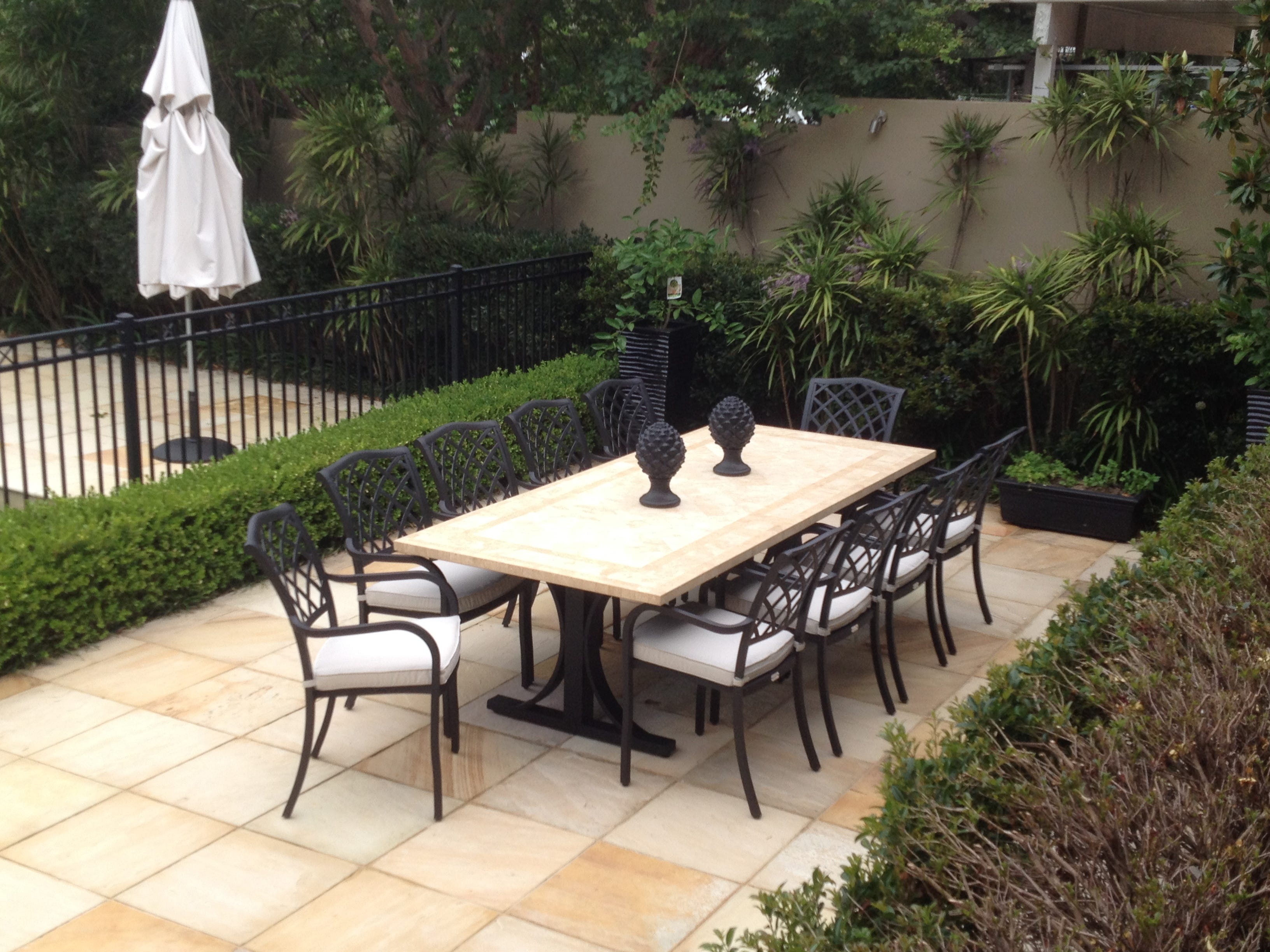 natural stone outdoor tables rh outdoorelegance com au stone patio table and chairs stone patio tables sale