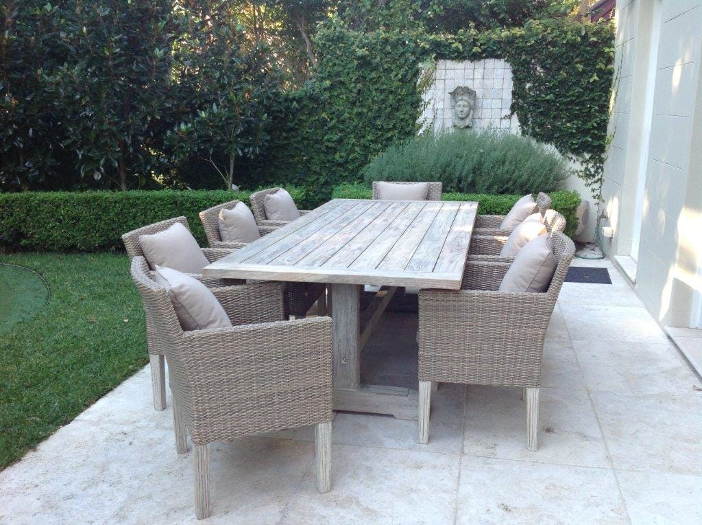 Greywash teak for Outdoor furniture images