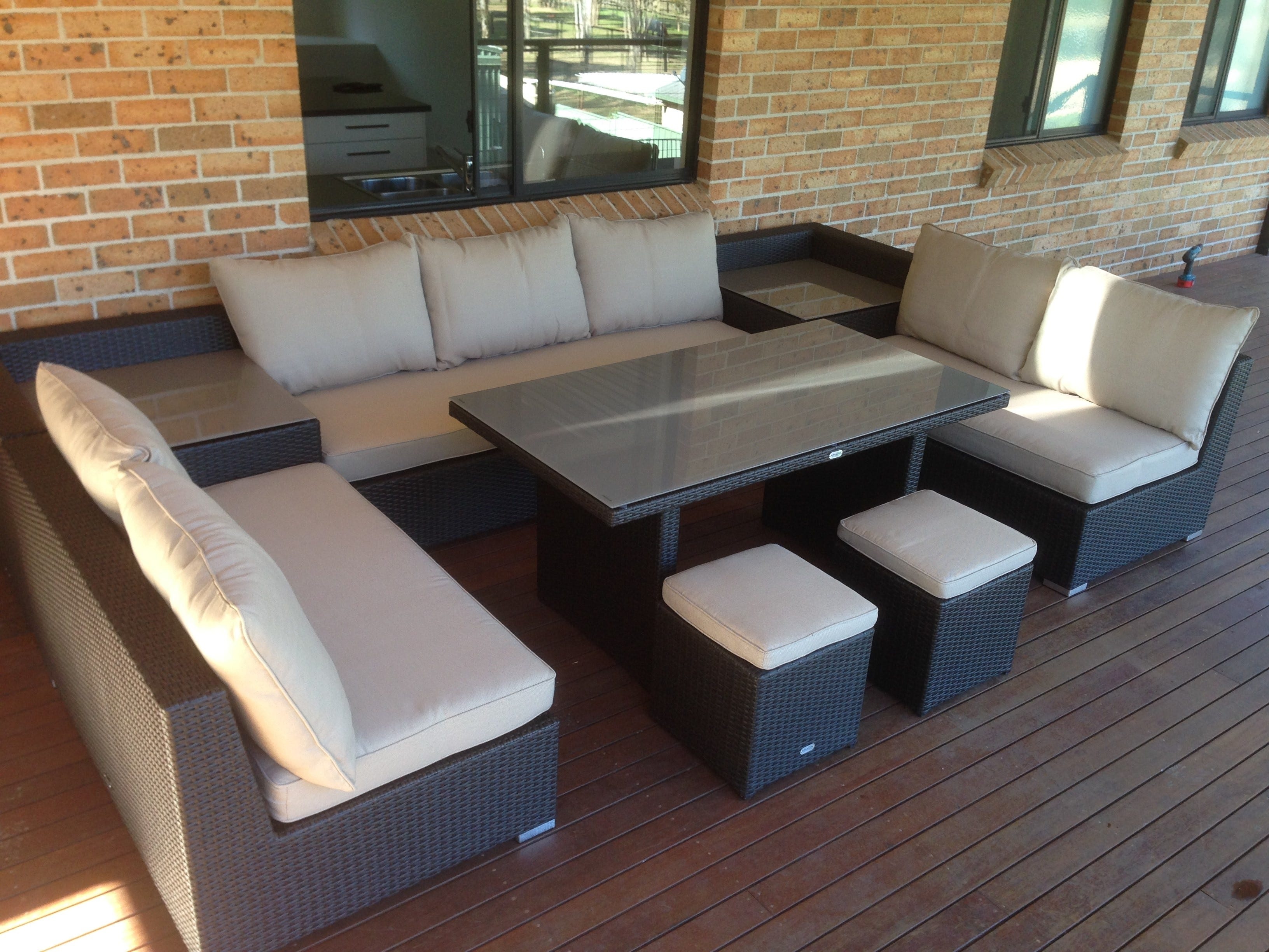 ideas room and concrete designs fantastic design size unilock outdoor cupboard full furniture living contemporary large patio format pavers lounge dining sectional modern of sofa