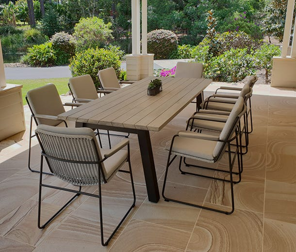 shop outdoor dining settings Brisbane