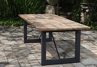 Laguna Teak Outdoor Table 240 X 100cm