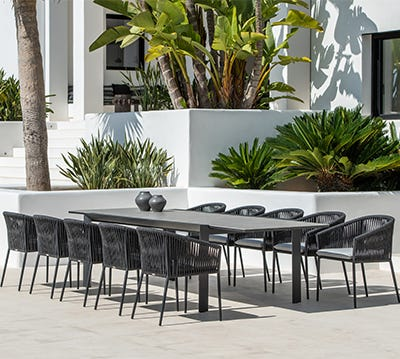 shop outdoor dining settings