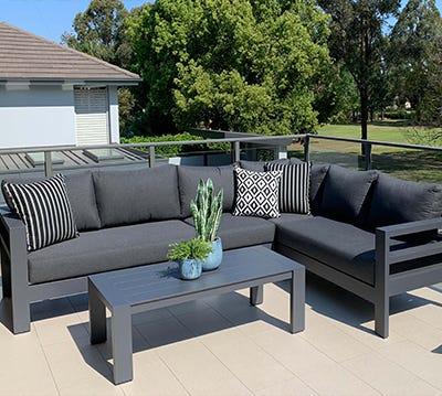 Outdoor Aluminium Lounges
