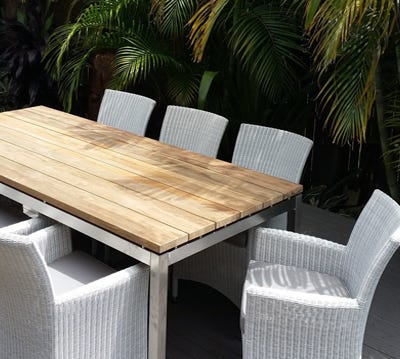 Teak Outdoor Settings Part 78