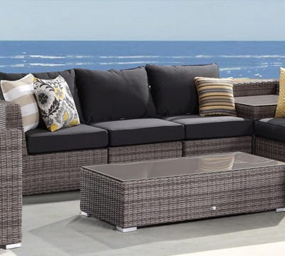 Wicker Outdoor Lounges Central Coast