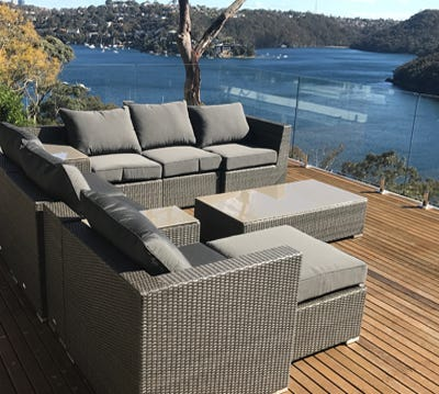 Wicker Outdoor Lounges Part 94